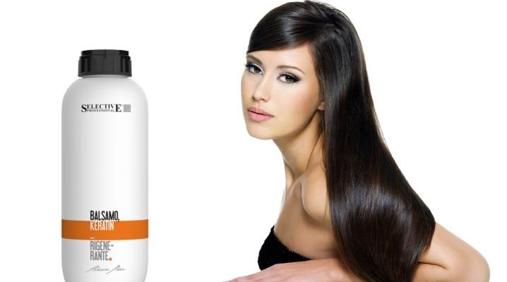 Бальзам для волосся з кератином