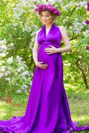 Плаття для фотосесії вагітних