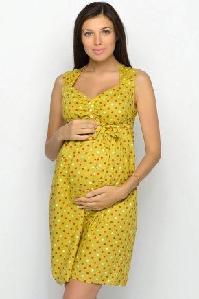 Сукні для вагітних на літо 2018 року