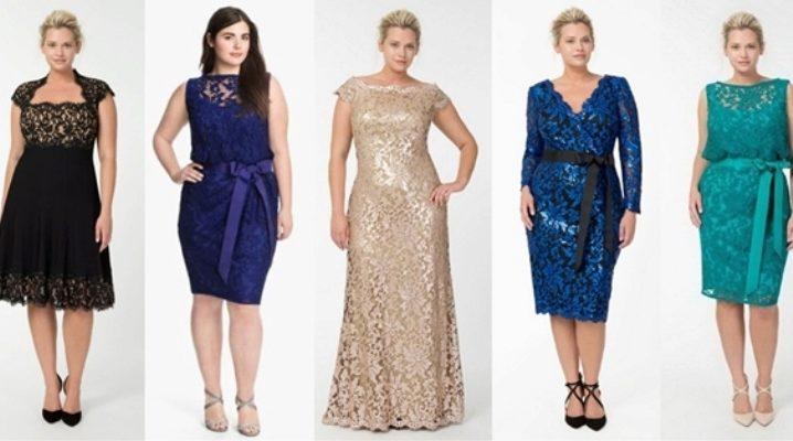 Гарні і нарядні вечірні сукні для повних жінок