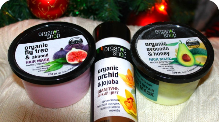 Маска для волосся Organic Shop