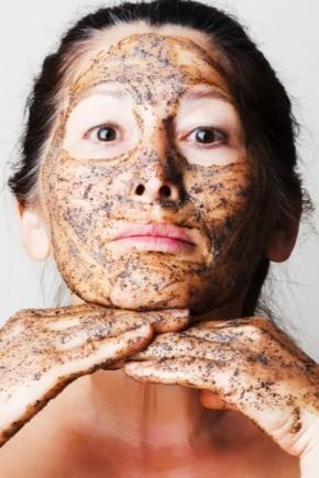 Маска для обличчя з кавової гущі