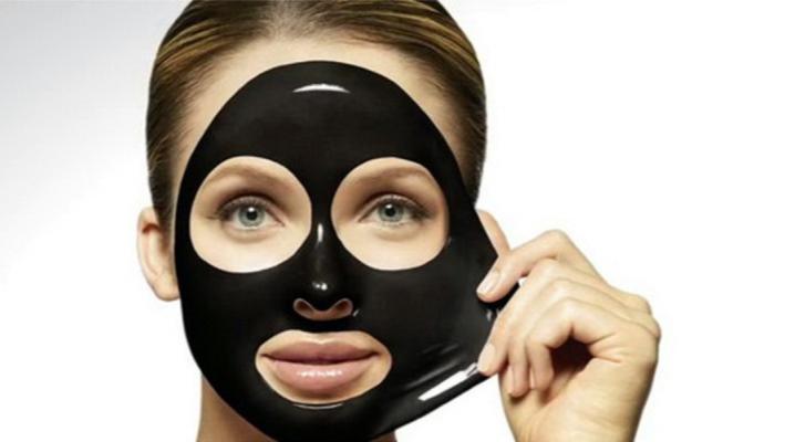 Чорна маска від чорних крапок
