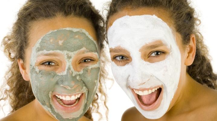 Маски для жирної шкіри обличчя