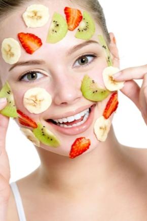 Маска для обличчя з фруктів і овочів