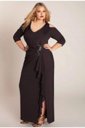 Довгі сукні для повних жінок
