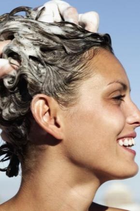 Миття волосся господарським милом