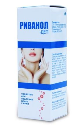«Риванол-Деп» для видалення волосся