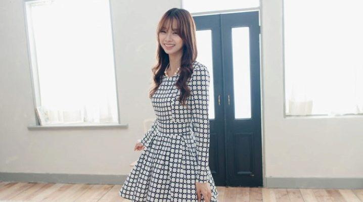 Сукня з спідницею полусолнце – ідеально для кокеток!