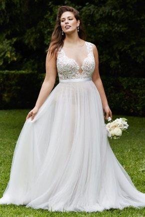 Весільні сукні для повних наречених
