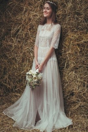 Весільна сукня в стилі бохо