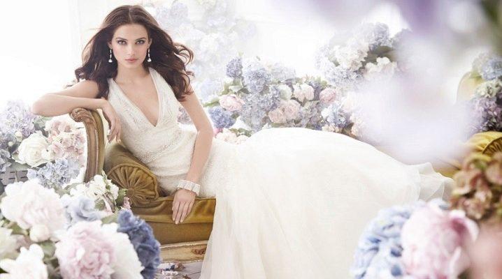 Весільне плаття в стилі ампір