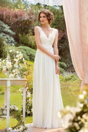 Весільна сукня в стилі «Рустик»