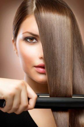 Турмалінові праски для волосся