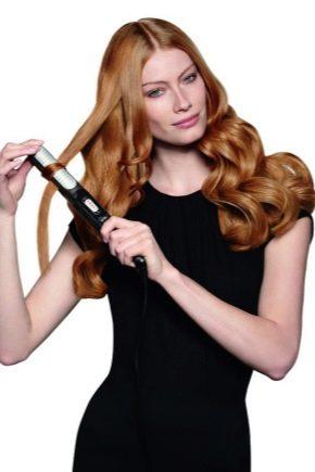 Укладання праскою волосся середньої довжини