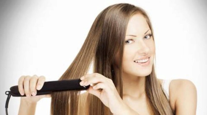 Як правильно випрямити волосся праскою?