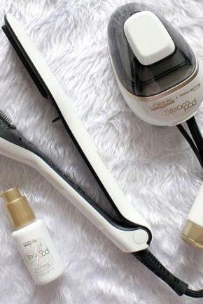 Паровий випрямляч для волосся L'Oreal