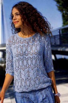 Ажурний пуловер – стильне рішення на зиму