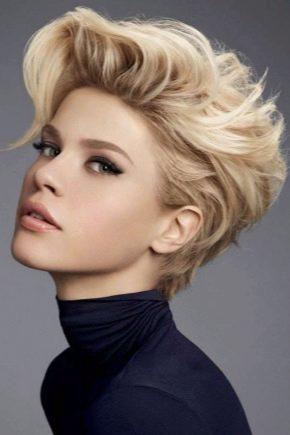 Укладання феном на коротке волосся