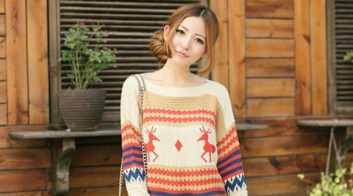 Стильний жіночий в'язаний светр