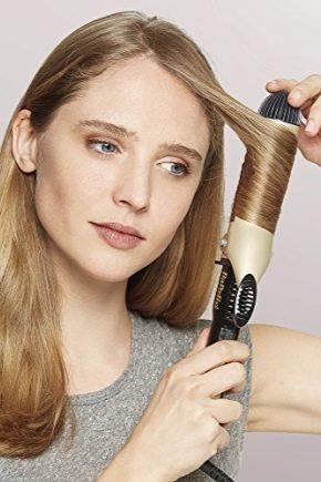 Широкі плойки для волосся