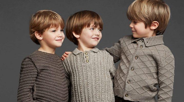 Красиві пуловери для хлопчиків і дівчаток