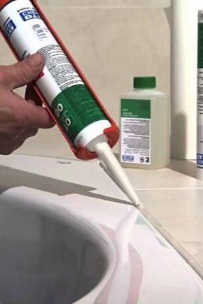 Чим відмити силіконовий герметик?