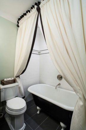 Правила прання штори у ванній кімнаті: позбавляємося від жовтизни