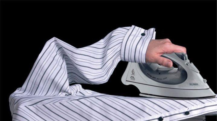 Як правильно гладити сорочку?