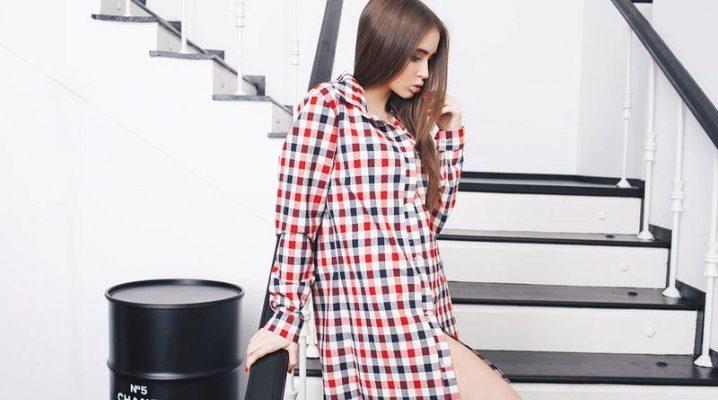 Довгі жіночі сорочки