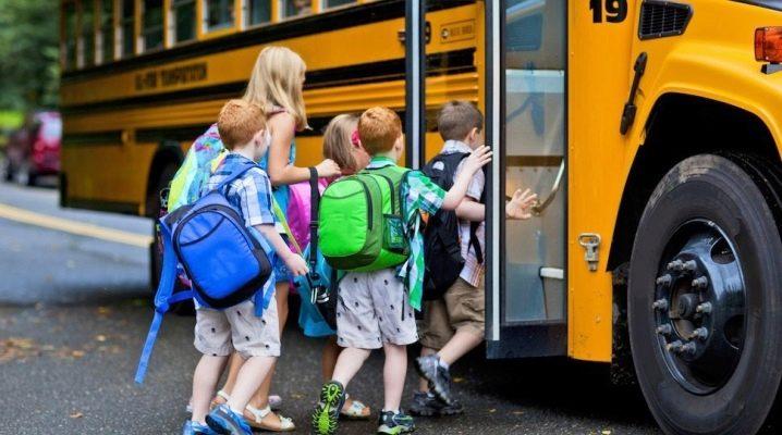Правила поведінки в громадському транспорті для школярів