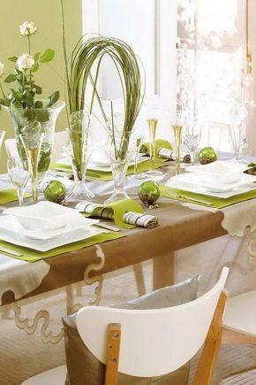 Сервірування святкового столу: гарні ідеї для дому