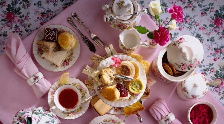 Чайний стіл: особливості сервіровки