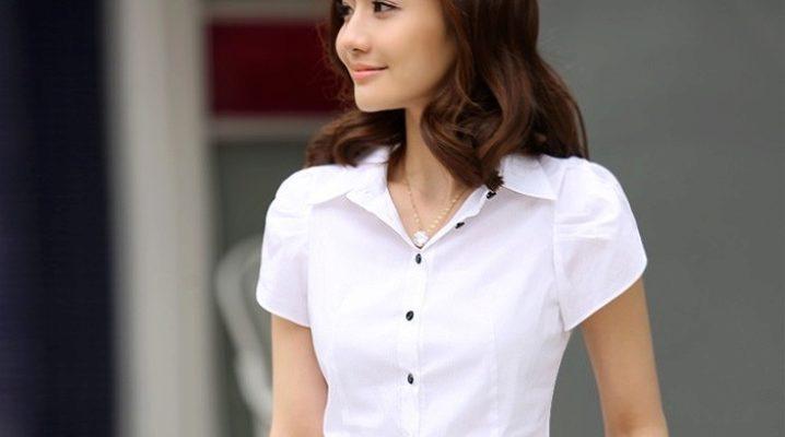 Жіноча сорочка з коротким рукавом: як носити?