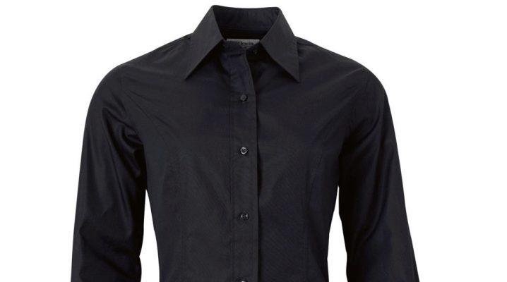 Чорна сорочка жіноча і чоловіча (148 фото)