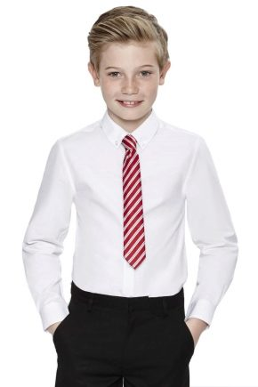 Шкільні сорочки для хлопчиків