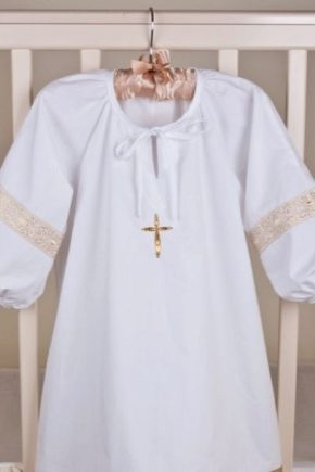 Хрестильна сорочка для хлопчика – яка вона?