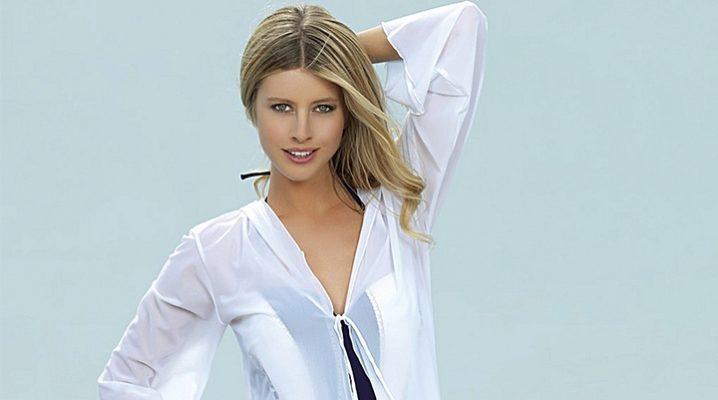 Жіночі пляжні сорочки-туніки