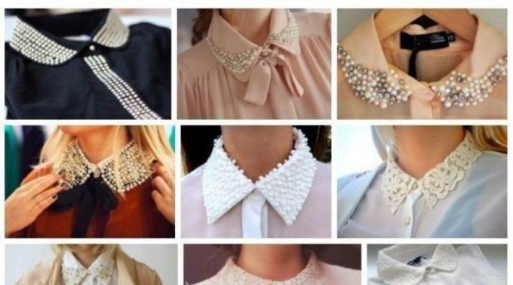 Комір сорочки: види і варіанти прикраси
