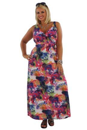 Модні і красиві сарафани для повних жінок
