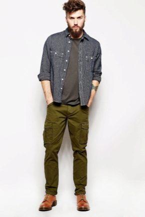 Чоловічі штани карго: популярні моделі