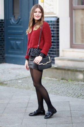 З чим носити червоний светр?
