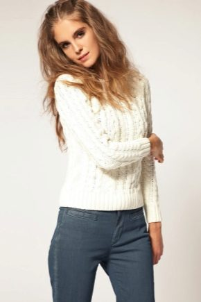 З чим носити білий светр?